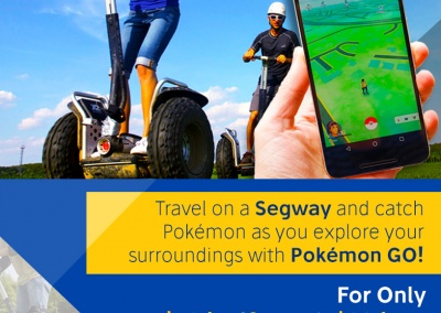 Pokemon GO Segway PT Rental