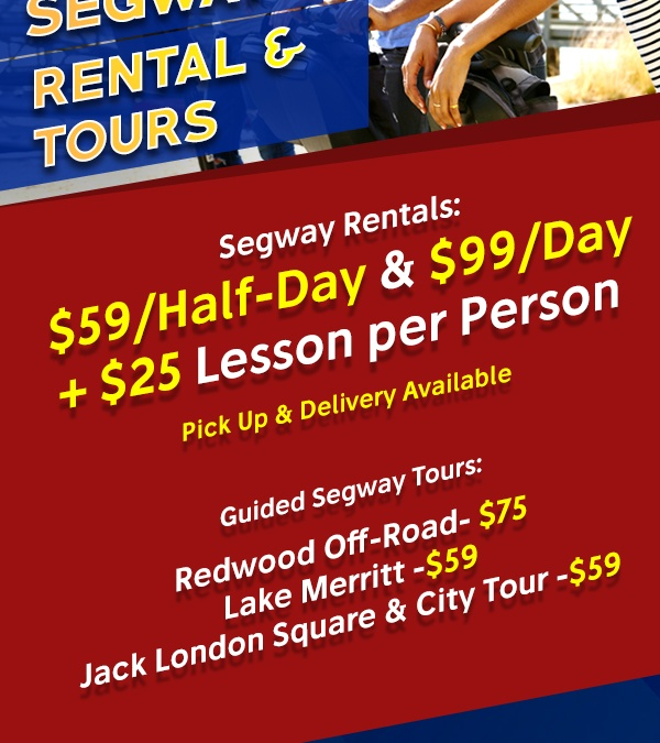 Segway PT Of Oakland Rental and Tours Poster